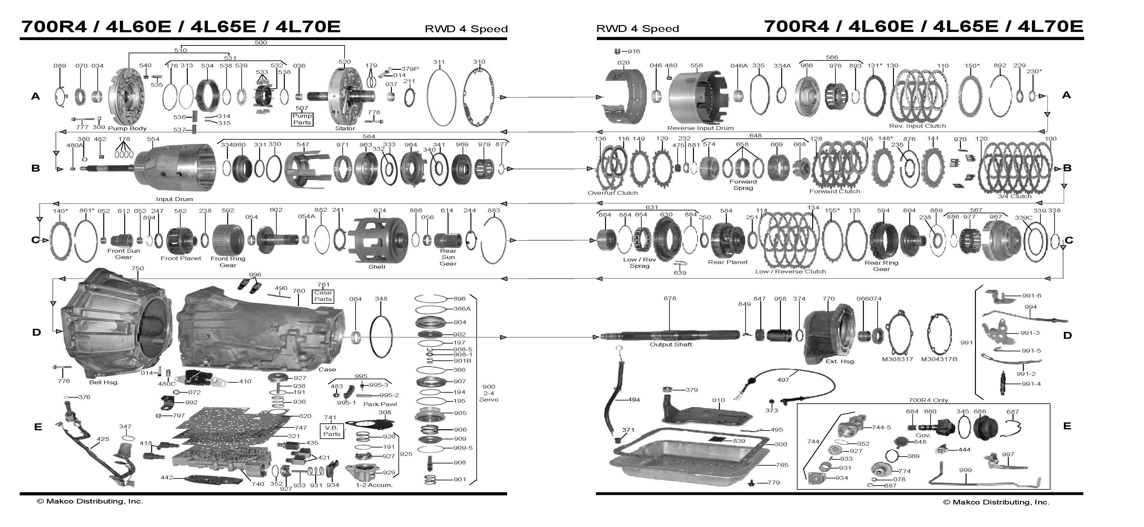 Bn 0021  4l60 To 4l80 Wiring Diagram Download Diagram