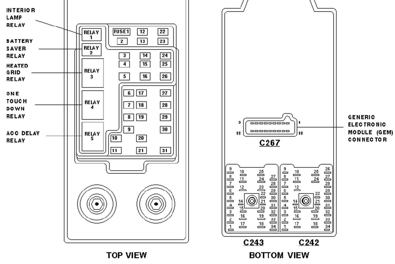 Marvelous 97 Ford Expedition Fuse Box Diagram Wiring Diagram Wiring Cloud Monangrecoveryedborg