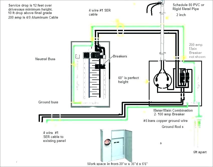 Ll 9257 100 Amp Garage Service Wiring Diagram Download Diagram