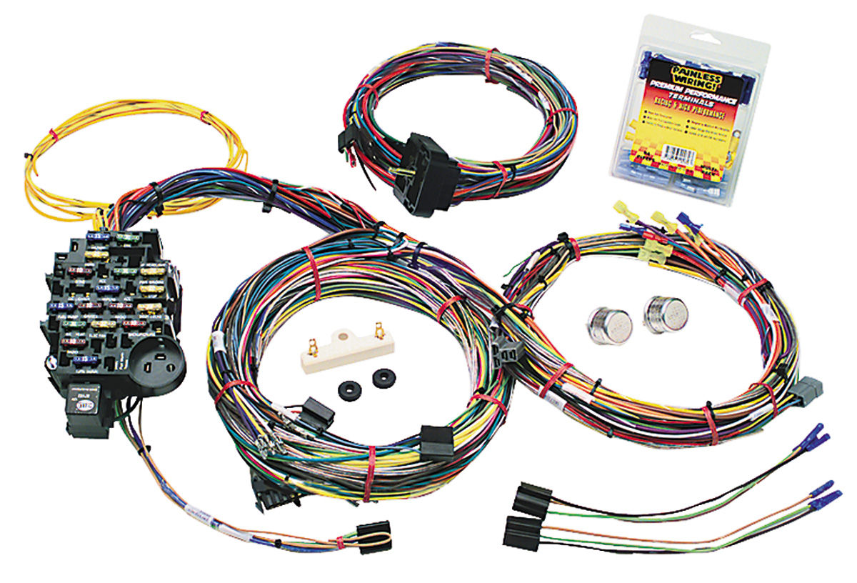 Fantastic Painless Performance Wiring Harness Muscle Car Gm 25 Circuit Wiring Cloud Dulfrecoveryedborg