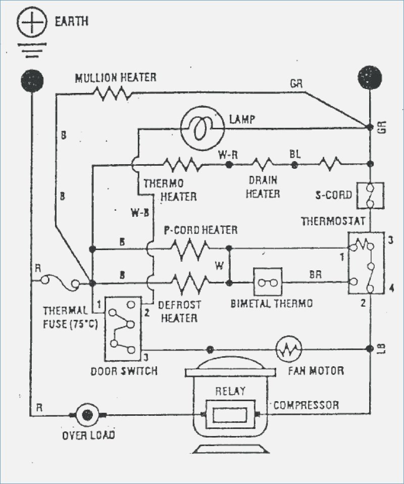 refrigerator wiring diagram compressor fridge wire diagram wiring diagram data refrigerator compressor starter wiring diagram fridge wire diagram wiring diagram data
