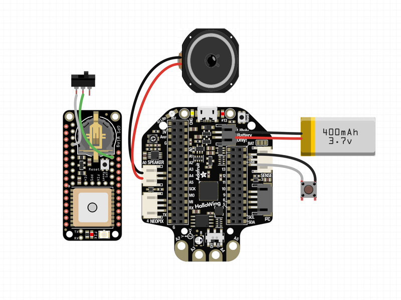 Prime Circuit Diagram Gps Tour Guide Adafruit Learning System Wiring Cloud Gufailluminateatxorg