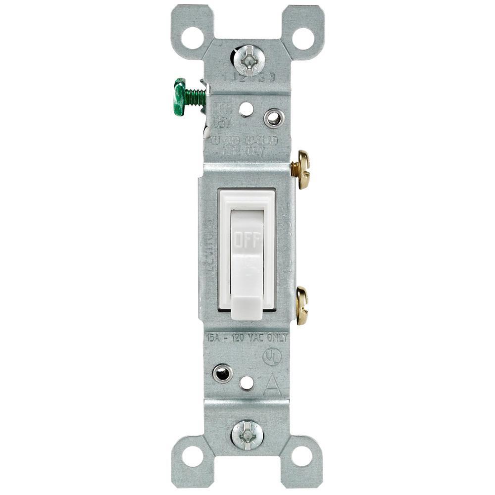 Tk 3469 White Single Pole Toggle Switch Free Diagram