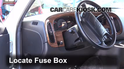 Superb Interior Fuse Box Location 1994 2003 Dodge Ram 1500 Van 2002 Wiring Cloud Icalpermsplehendilmohammedshrineorg