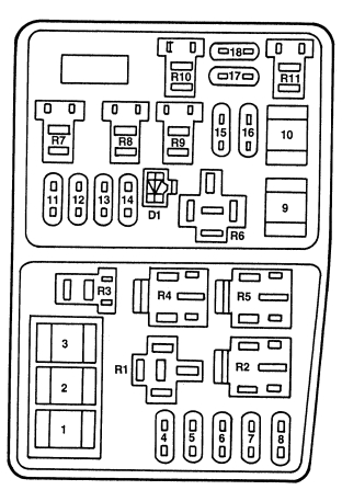 Enjoyable 1998 Ford Contour Fuse Box Wiring Diagram Database Wiring Cloud Overrenstrafr09Org