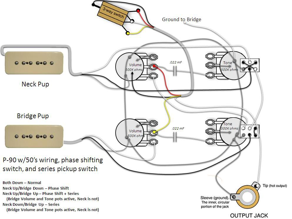 Outstanding P90 Pickup Wiring Diagrams Additionally Gibson Les Paul Junior Wiring Cloud Rometaidewilluminateatxorg