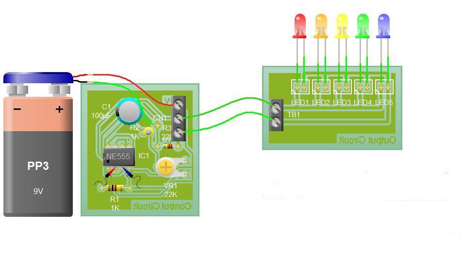 Amazing Flasher Circuit Using Ne555 Timer Basic Electronic Project Wiring Cloud Genionhyedimohammedshrineorg