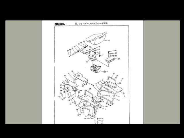 Amazing Yanmar Ym2210 Ym2210D Tractor Parts Manual 150Pgs For Ym 2210 D Wiring Cloud Staixaidewilluminateatxorg